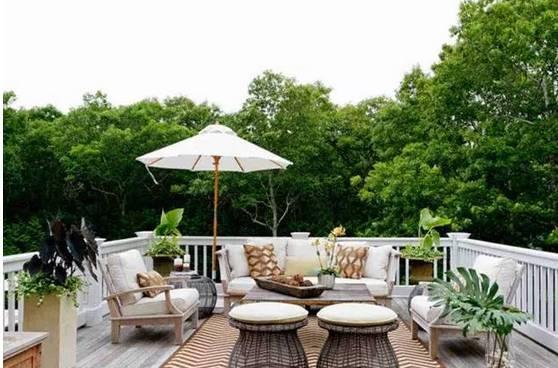 露台花园那么美,下雨该咋办?_12
