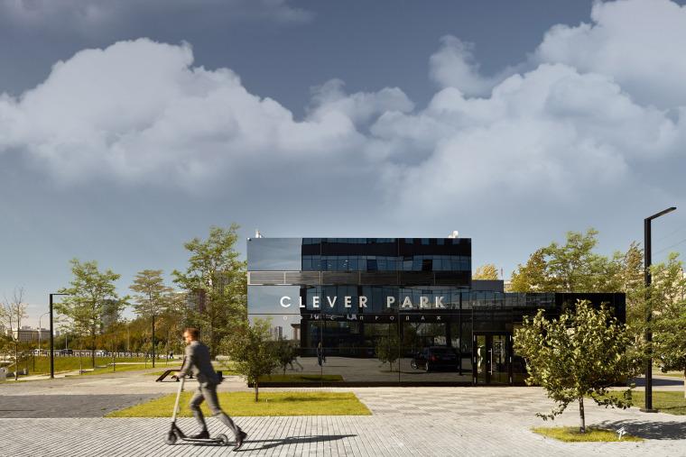 俄罗斯CLEVERPARK售楼处-俄罗斯CLEVER PARK售楼处外部实景图4