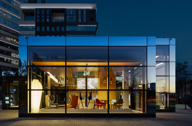 俄罗斯CLEVERPARK售楼处-俄罗斯CLEVER PARK售楼处外部实景图9