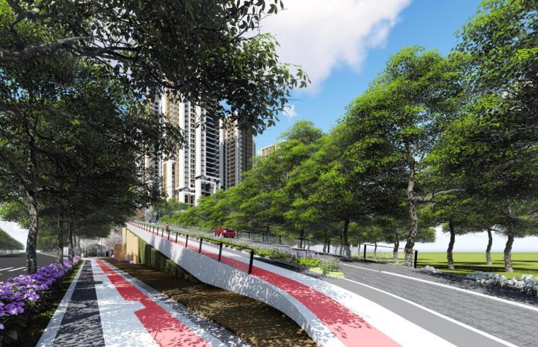 [福州]中央公园宜居住宅社区建筑方案-效果图