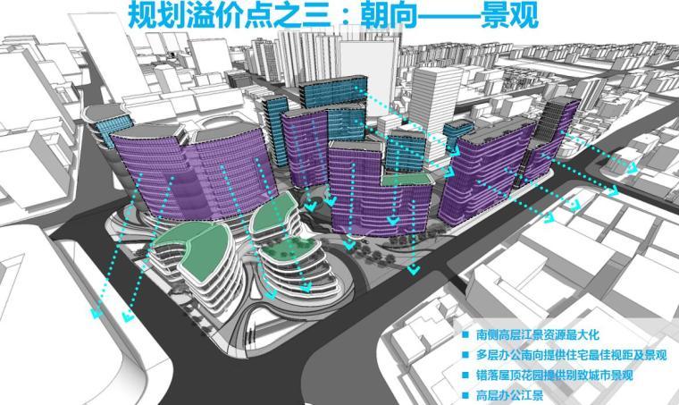 [上海]现代风格豪宅+办公建筑概念规划设计-朝向——景观
