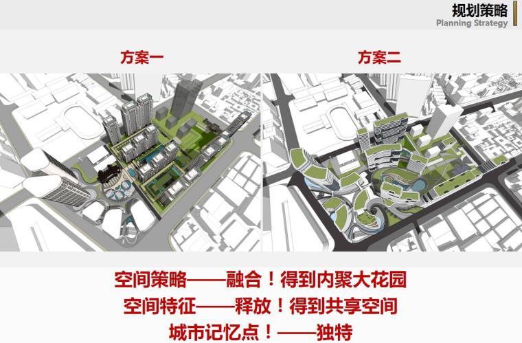 [上海]现代风格豪宅+办公建筑概念规划设计-规划策略