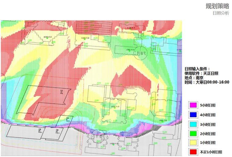 [江苏]现代风格商业办公+公寓建筑方案设计-日照分析
