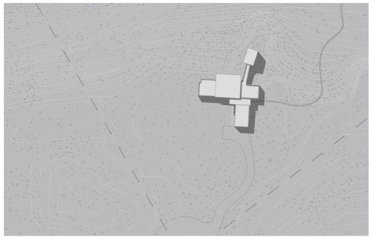 美国猫山之家平面图