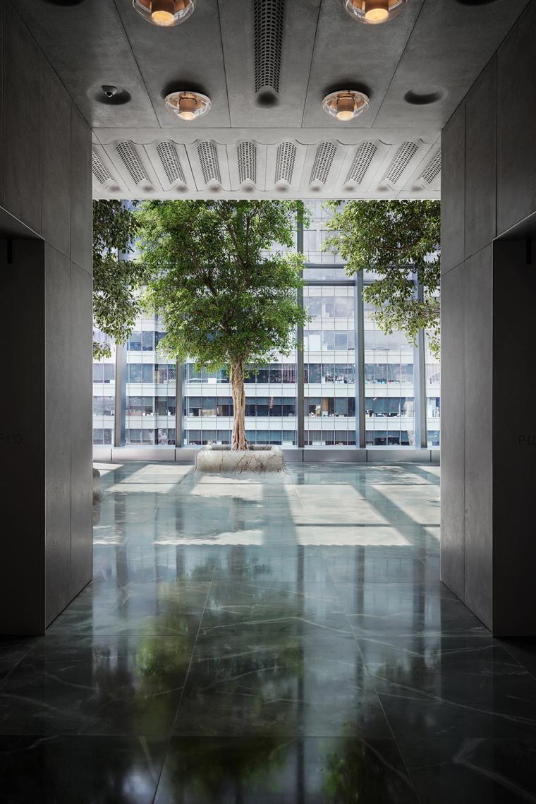 香港港丰发展总部室内实景图