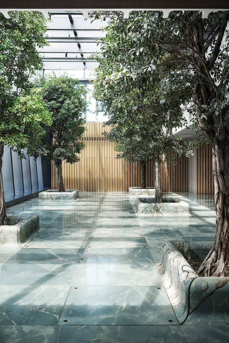 香港港丰发展总部室内实景图1