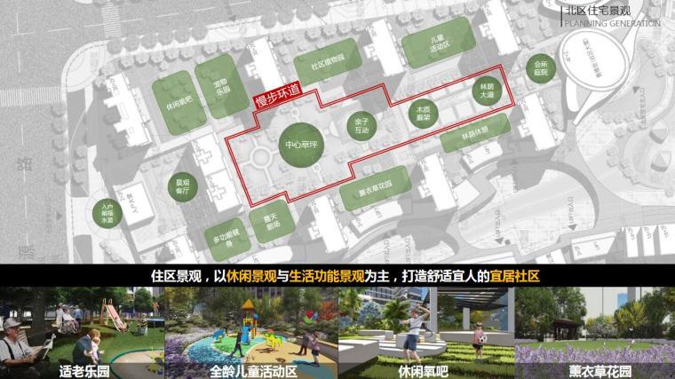 [江苏]一城一岛一带现代风住宅规划方案设计-北区住宅景观