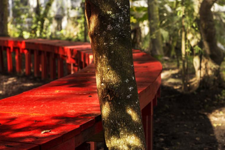 智利'无限长凳'装置实景图2