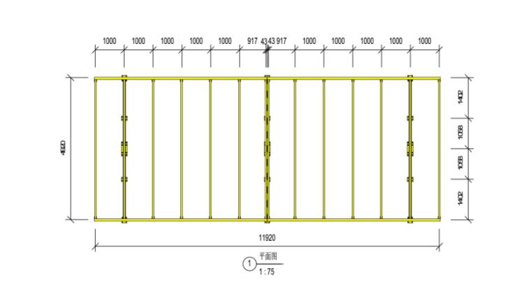 19层框剪结构宿舍楼防护棚专项施工方案-02 双层硬质防护