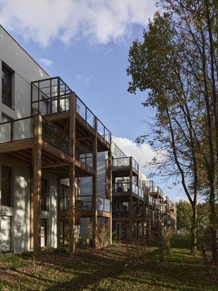 法国南特的45套住房外部实景图1