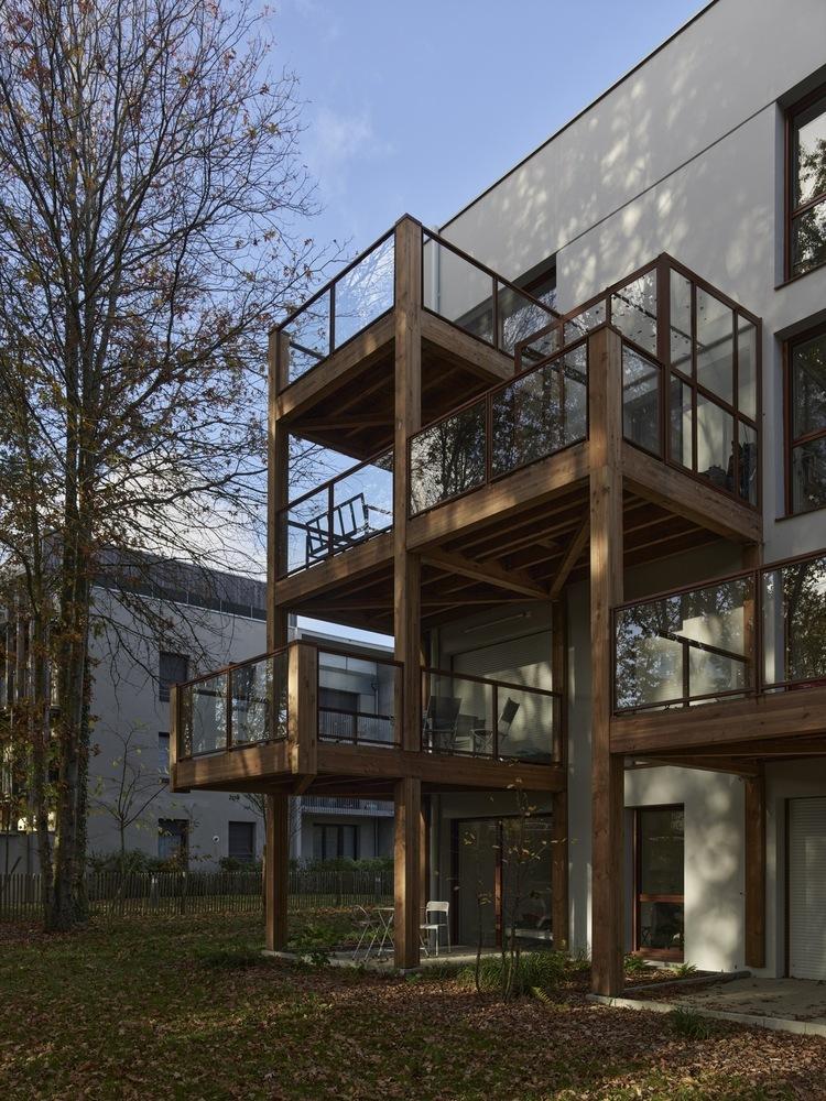 法国南特的45套住房外部实景图5
