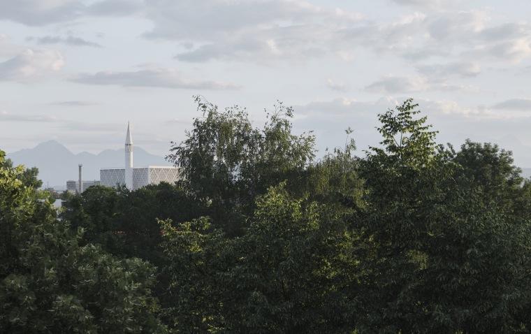 斯洛文尼亚卢布尔雅那伊斯兰宗教和文化中心外部实景图7
