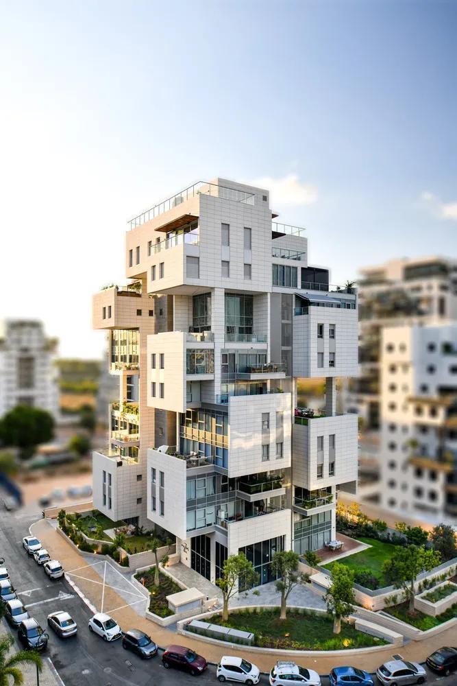 「分享」建筑立面中的构成之美_2