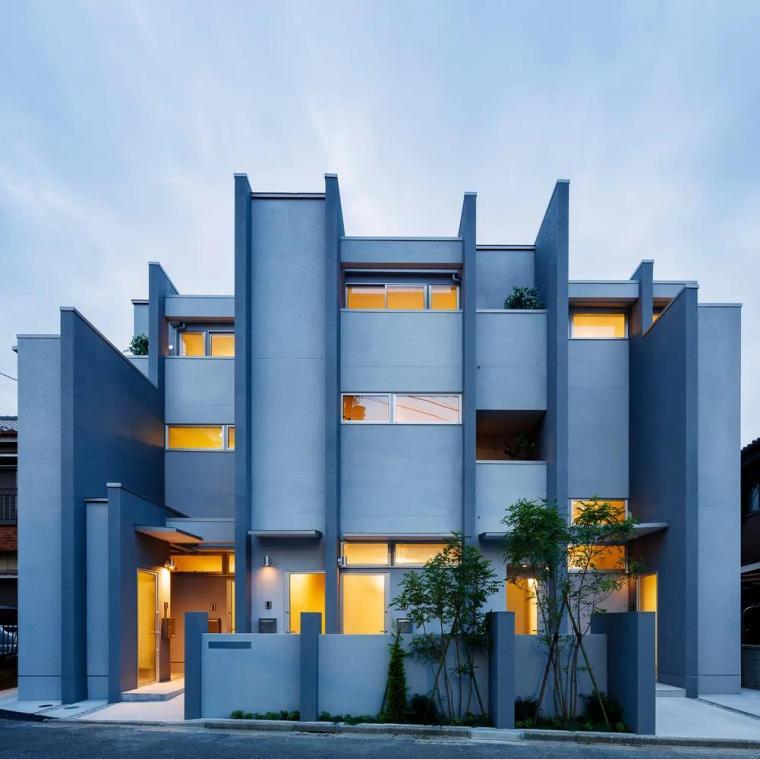 「分享」建筑立面中的构成之美_4