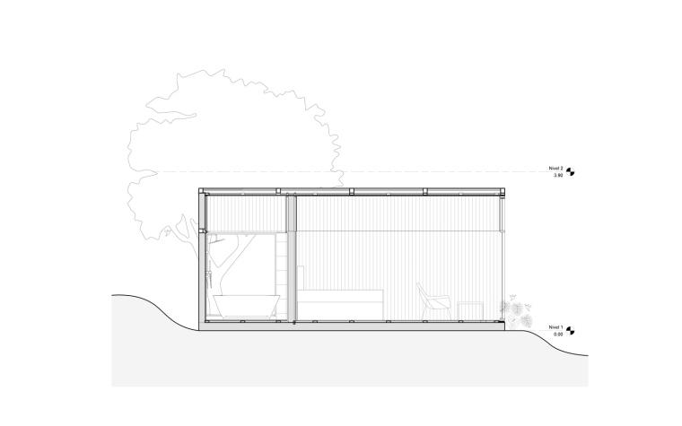哥伦比亚SanFelipe避难所-哥伦比亚San Felipe避难所剖面图1
