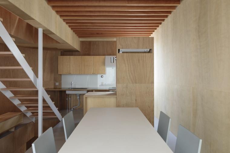 日本广岛山崖之宅室内实景图10