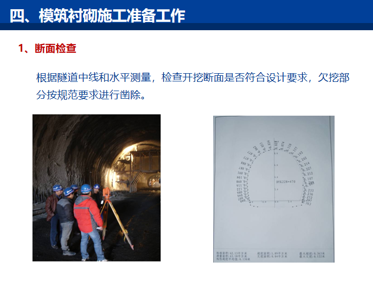 知名企业隧道工程支护结构施工技术讲解PPT-模筑衬砌施工准备工作