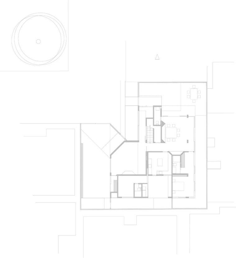 """极简现代——400平的""""L型""""别墅_27"""