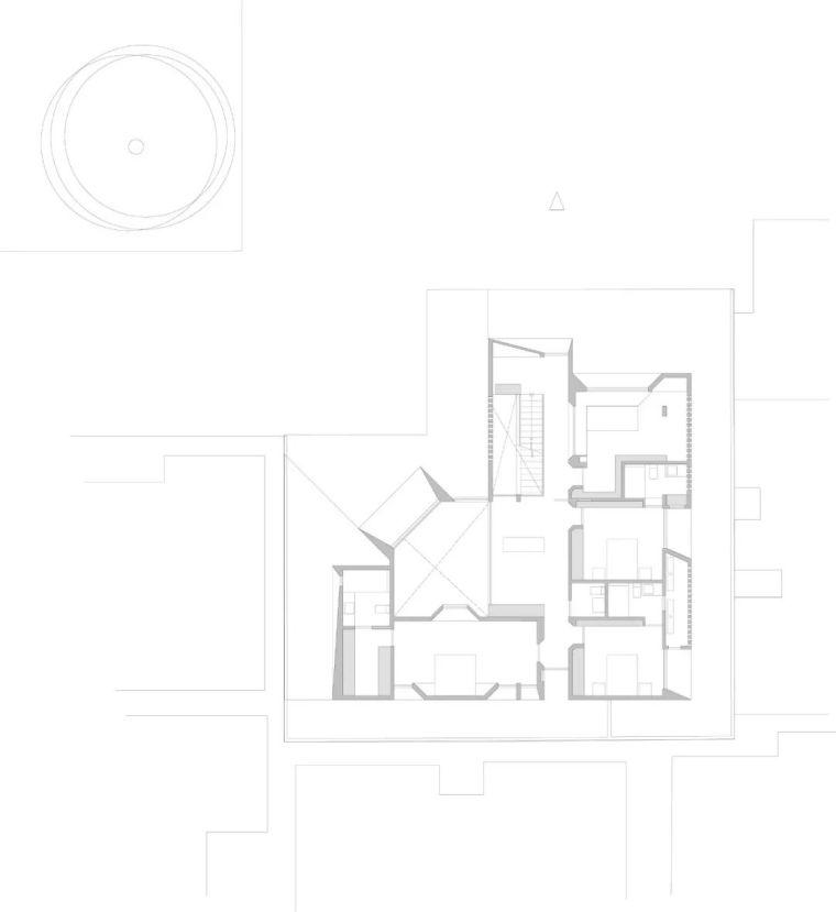 """极简现代——400平的""""L型""""别墅_28"""
