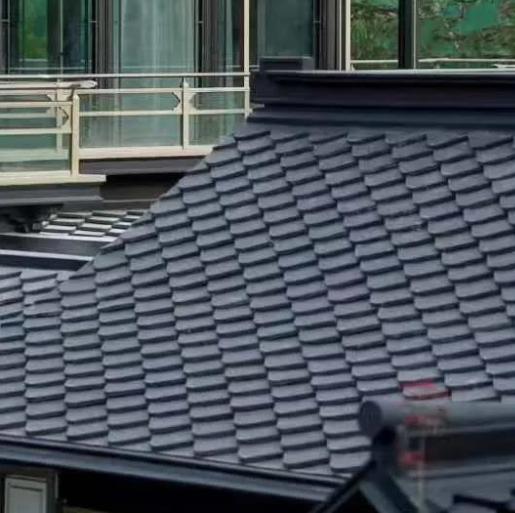 菱心瓦——层叠起伏的宋氏风韵!-安耐格屋顶瓦案例展示