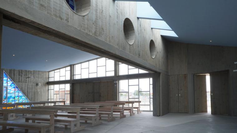 智利圣奥古斯丁·德·蓬罗斯教堂内部实景图