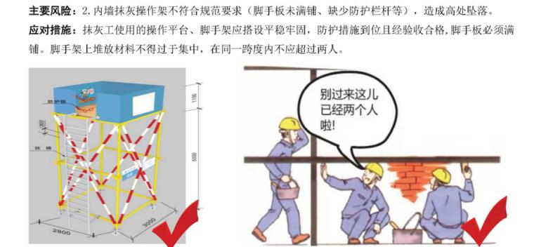 建筑工程抹灰工安全教育培训PPT-03 内墙抹灰操作架