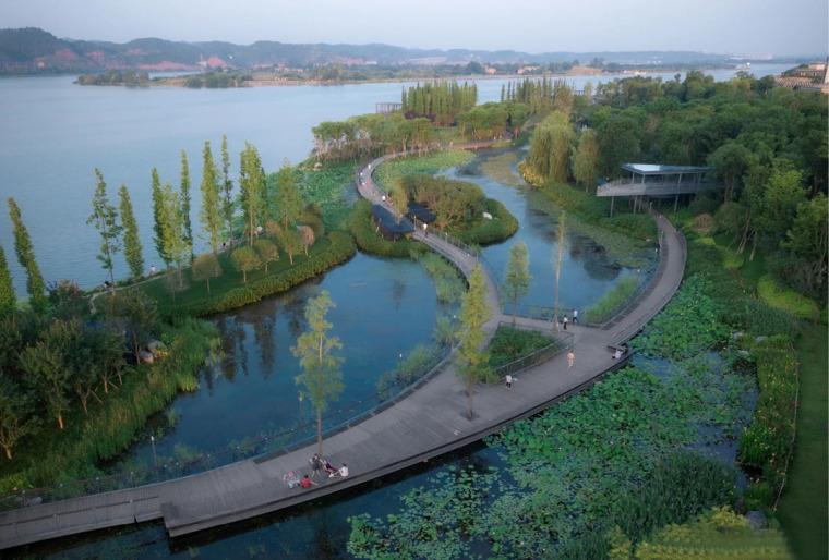 遂宁南滨江公园实景图12