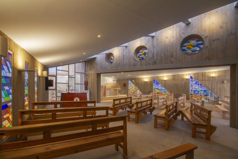 智利圣奥古斯丁·德·蓬罗斯教堂内部实景图1