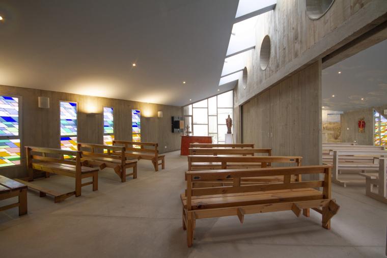 智利圣奥古斯丁·德·蓬罗斯教堂内部实景图3