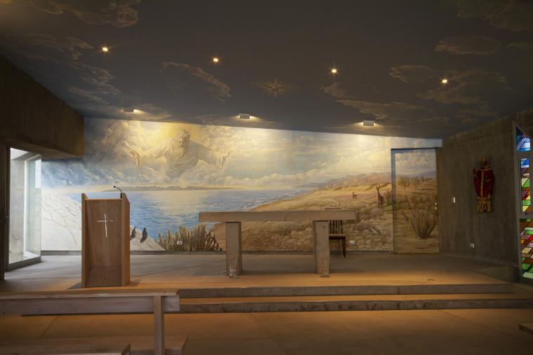智利圣奥古斯丁·德·蓬罗斯教堂内部实景图4