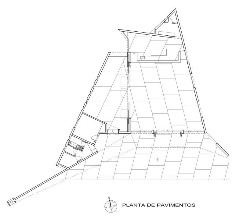 智利圣奥古斯丁·德·蓬罗斯教堂平面图1
