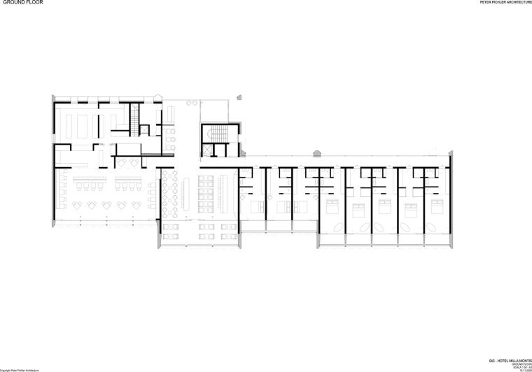 意大利米拉蒙蒂斯酒店平面图1