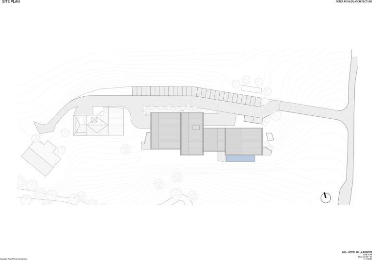 意大利米拉蒙蒂斯酒店平面图