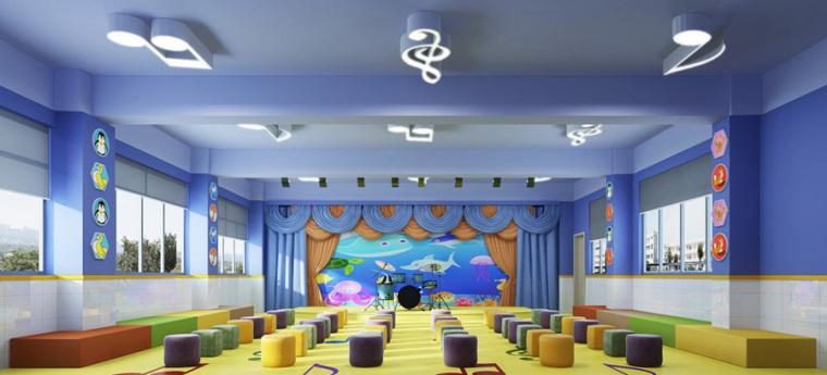 幼儿园室内设计案例效果图-幼儿园效果图 (4)