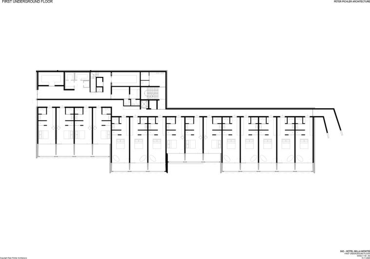 意大利米拉蒙蒂斯酒店平面图3