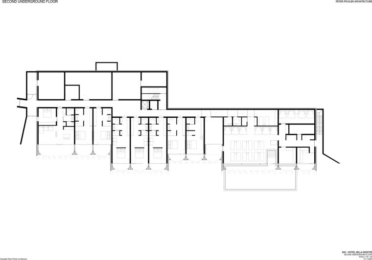 意大利米拉蒙蒂斯酒店平面图2