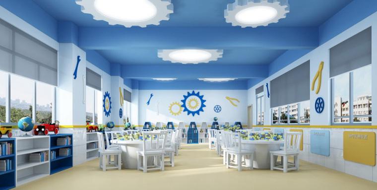 幼儿园室内设计案例效果图-幼儿园效果图 (5)