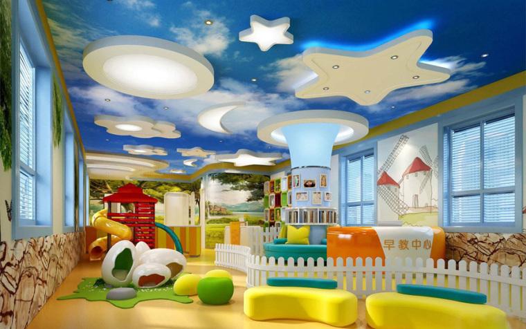 幼儿园室内设计案例效果图-幼儿园效果图 (7)