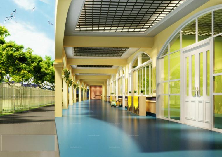 幼儿园室内设计案例效果图-幼儿园效果图 (9)