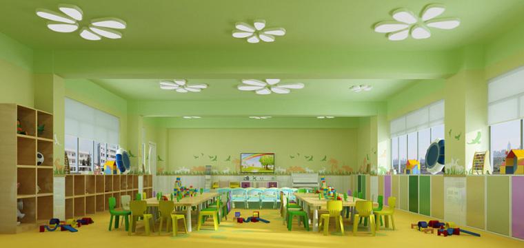 幼儿园室内设计案例效果图-幼儿园效果图 (13)