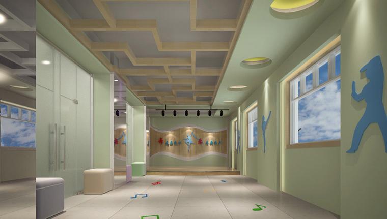 幼儿园室内设计案例效果图-幼儿园效果图 (18)