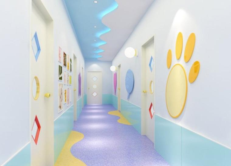 幼儿园室内设计案例效果图-幼儿园效果图 (19)