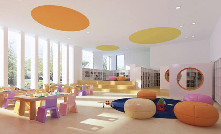 幼儿园室内设计案例效果图-幼儿园效果图 (20)
