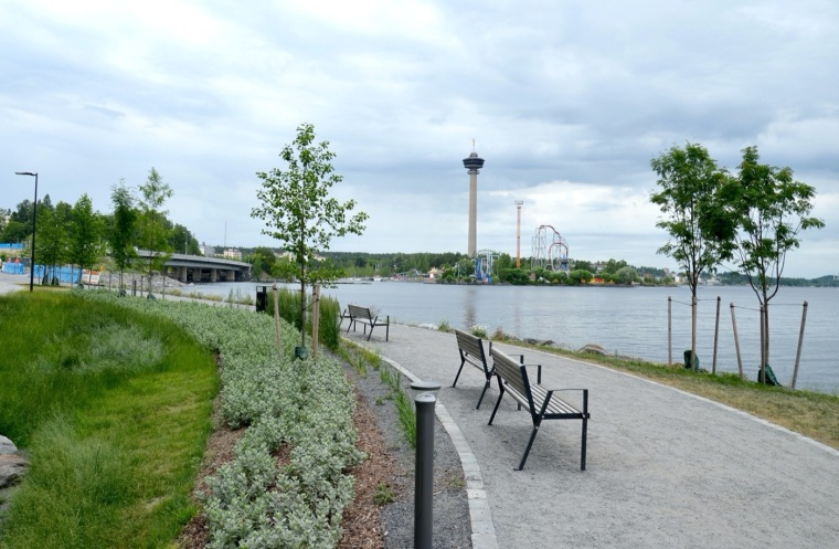 芬兰Ranta-Tampella公共空间实景图13