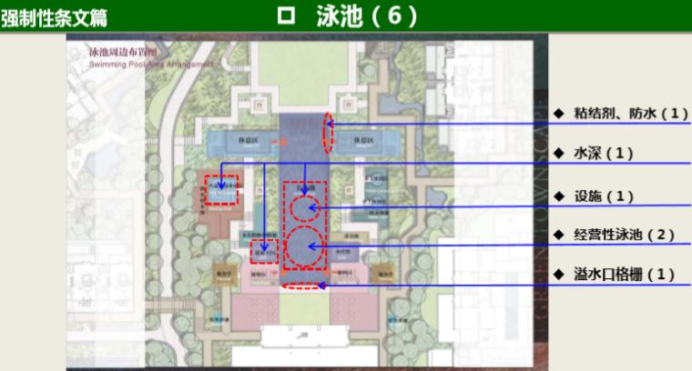 知名地产景观工程营造管控技术交流(145页)-泳池