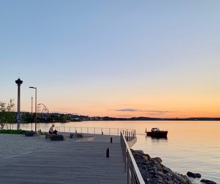芬兰Ranta-Tampella公共空间实景图17