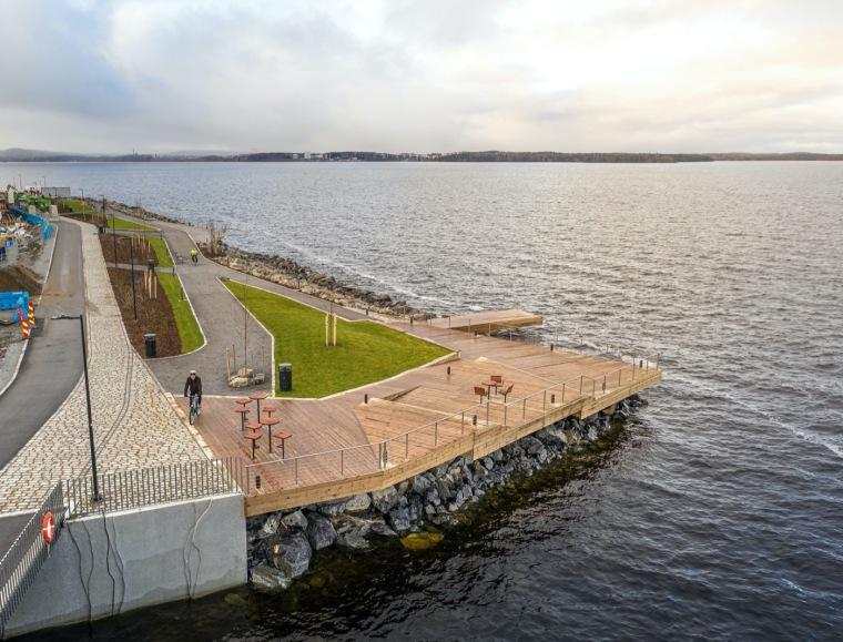 芬兰Ranta-Tampella公共空间实景图18