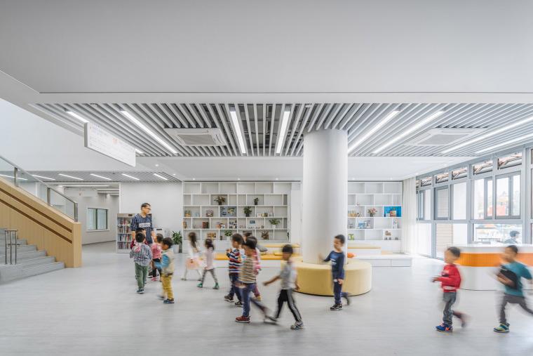 上海华东师范大学第二附属中学前滩学校内部实景图32