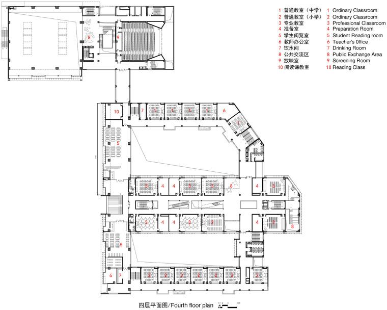 上海华东师范大学第二附属中学前滩学校平面图4