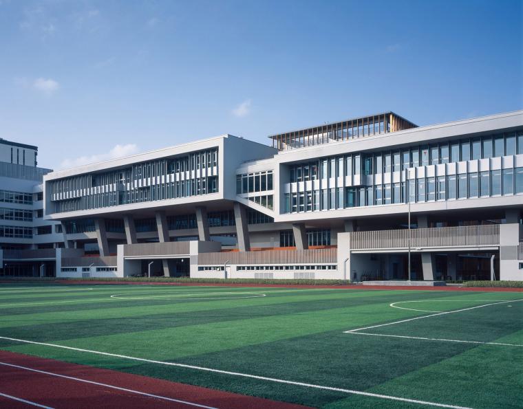 上海华东师范大学第二附属中学前滩学校外部实景图8